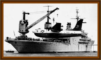 USS Pine Island AV-12 Incident