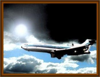 Aerolineas Argentinas Boeing 727 Sighting