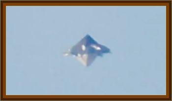 Sighting Of A Pyramid UFO