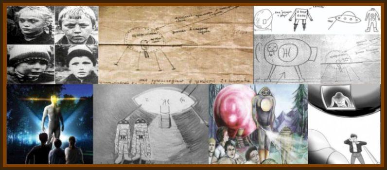 Russian UFO Landing & Aliens