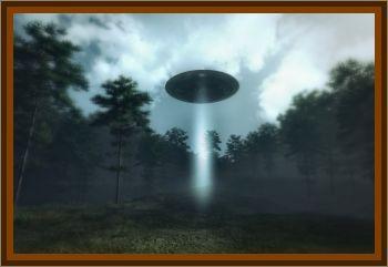 Small UFO Seen Outside Window