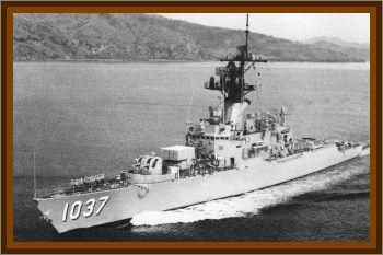 USS Bronstein (DE 1037) Meets UFO Mother Ship At Sea