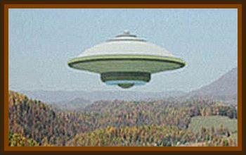 Huge Flying Saucer