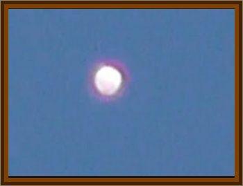 White Egg Shaped UFO