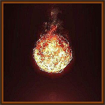 Large Fireball Like Object