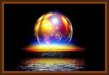 Bright Amber/Orange Spherical Light Moving Erratically At Night
