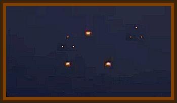 Formation Of Lights Over Springdale/Fayetteville - 2 Stories