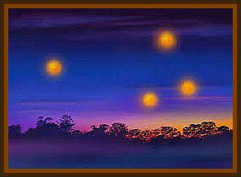 Strange Glowing Spheres