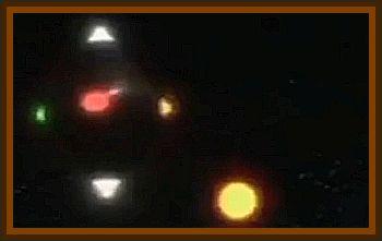 Overhead UFO In Tehran