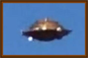 Daylight UFO Observed