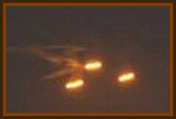 Triangle UFO Over Melvin Village