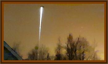 Couple Observes UFO