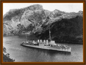 USS Williamson Encounter