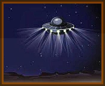 Strange UFO Observed